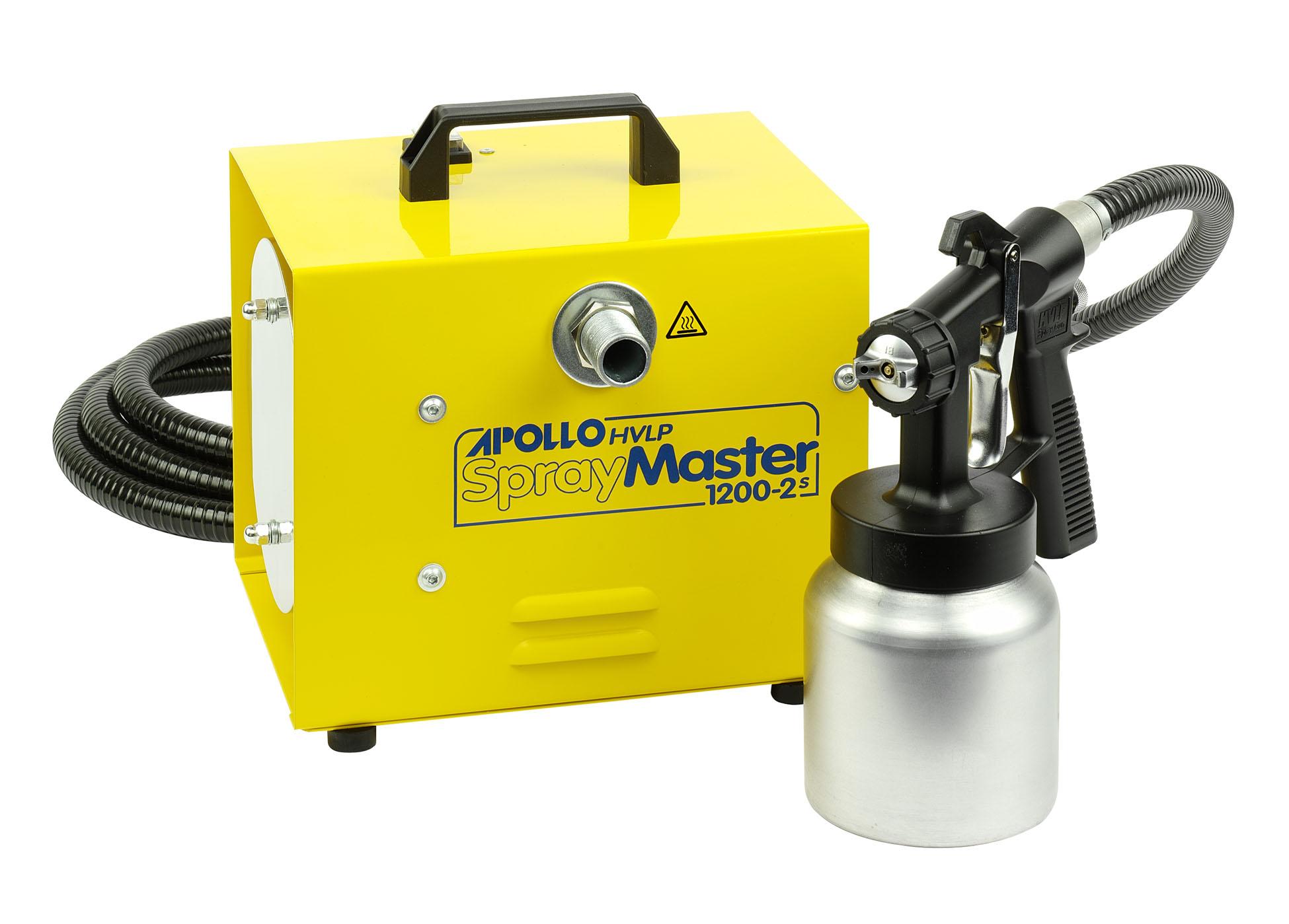Apollo Spraymaster 1200 Hvlp Sprayer Kit 163 190 66