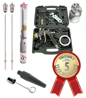 A.S.I. Precision 5 Pro Limited Edition HVLP Sprayer Kit with 7700T Gun